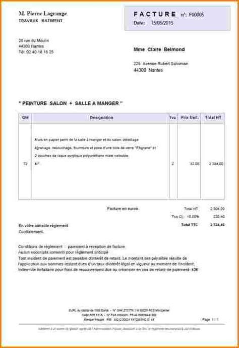 Exemple De Lettre Facture 12 Exemple Facture Modele De Facture