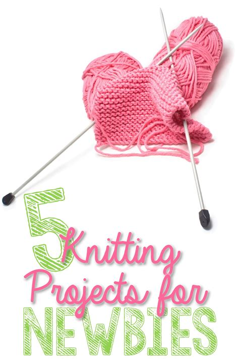 projects for beginners 5 knitting projects for newbies you put it up