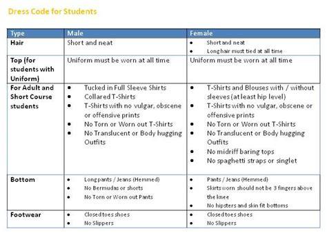 students dresscode smart learners international school