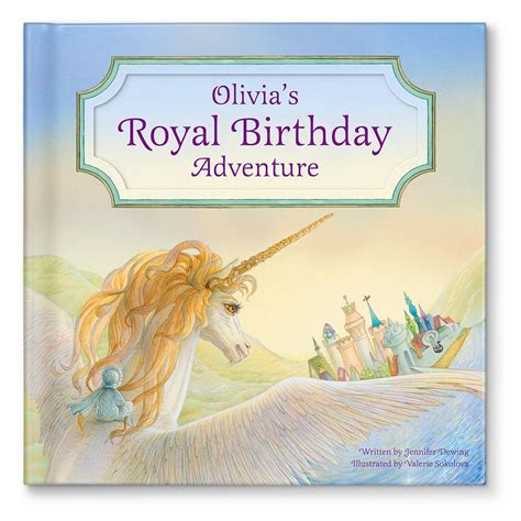 personal picture books my royal birthday adventure for personalized