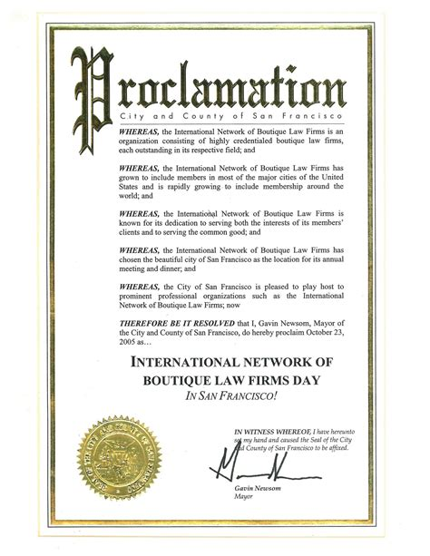 proclamation template awesome proclamation templates contemporary exle
