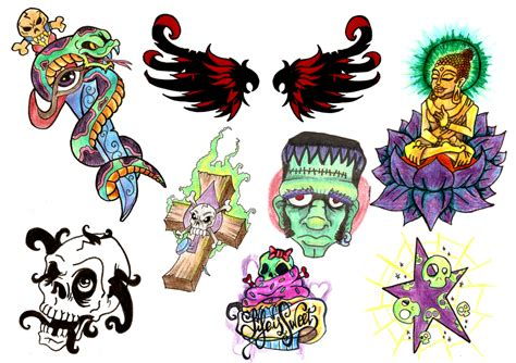flash tattoo uae tattoo flashes 2 by vincesmind on deviantart
