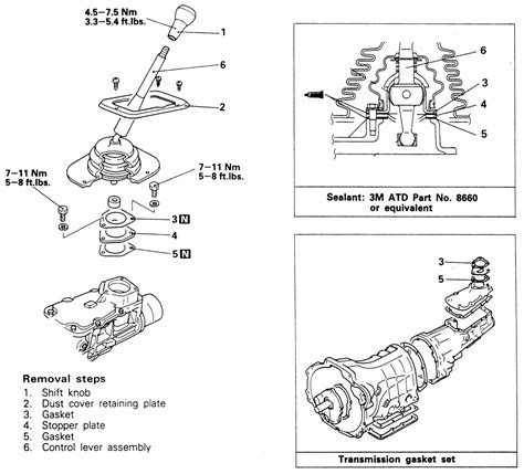 car maintenance manuals 1987 mitsubishi chariot transmission control repair guides manual transmission gearshift lever assembly autozone com
