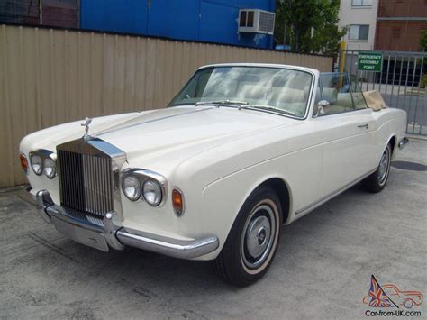 1973 rolls royce corniche 1973 rolls royce corniche convertible in in moreton qld