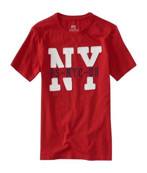 aeropostale ps boys ny ps 09 graphic t shirt ebay