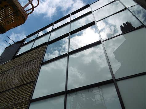 aluminum curtain wall systems aluminium curved curtain walling installed in listed building