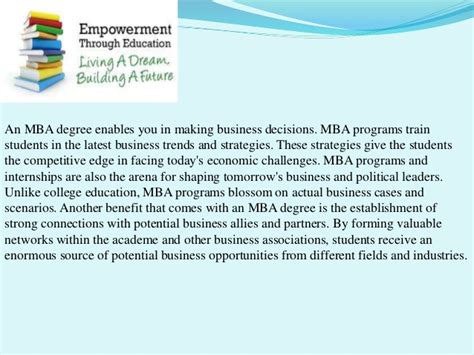 Importance Of Networking In Mba importance of mba