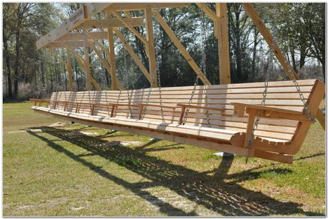 wooden porch swing kits wooden patio swing planshome design galleries patios