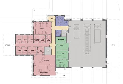 fire station floor plans firehouse floor plans house design