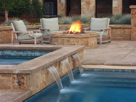 pool fire pit inground vs above ground pool tips inspiration