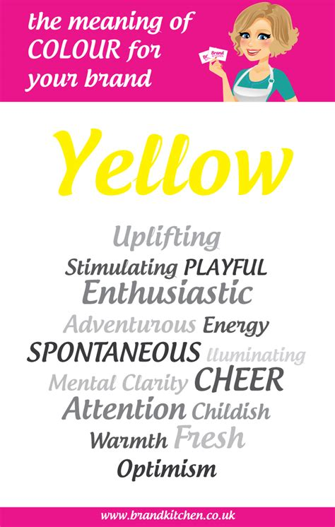 yellow colour meaning colour connotations yellow driverlayer search engine