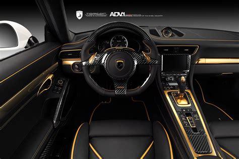 Handmade Interiors - porsche 911 stinger gtr 991 tuning topcar russia