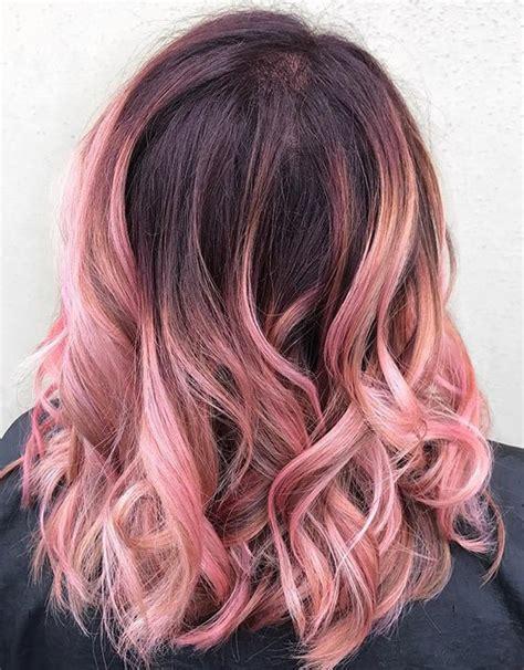 pictures of medium length hair with hombre color омбре на волосах как сделать в домашних условиях и 40