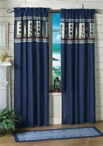 Nautical Window Curtains 5 Styles Of Nautical Themed Curtains
