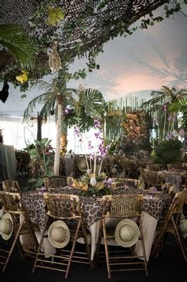 metro luxe events candice vallone a jungle safari