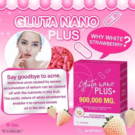 Gluta Nano Plus gluta nano plus 900 000 mg anti aging and v shape