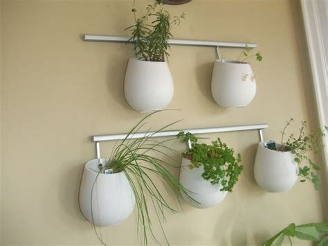 wall planters ikea hanging pots outdoor space pinterest ikea herbs