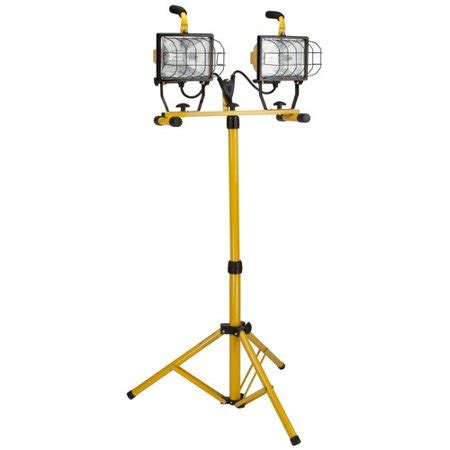 arlec 1000w halogen worklight with tripod bayco 1000w halogen work light walmart