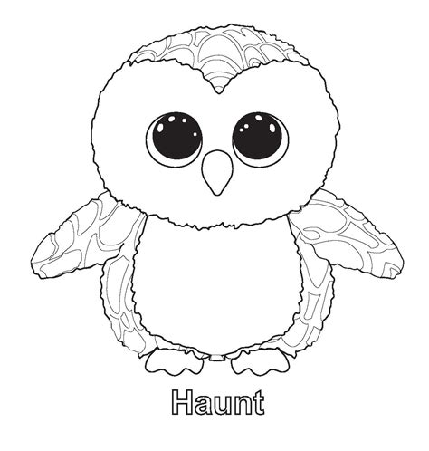 boo dog coloring page ty beanie boo coloring pages download and print for free