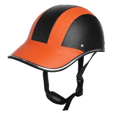 most comfortable half helmet motorcycle anti uv helmet baseball cap style plaid safety