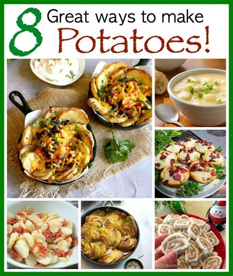 8 Awesome Potato Recipes To Try by 286 Best Veggies Images On American