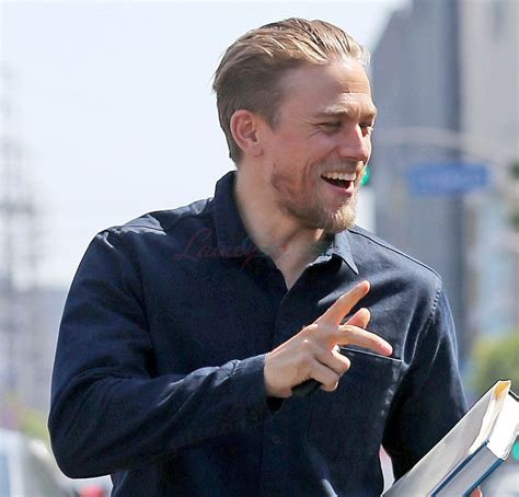 charlie hunnam charlie hunnam looking hot in la after meeting is not