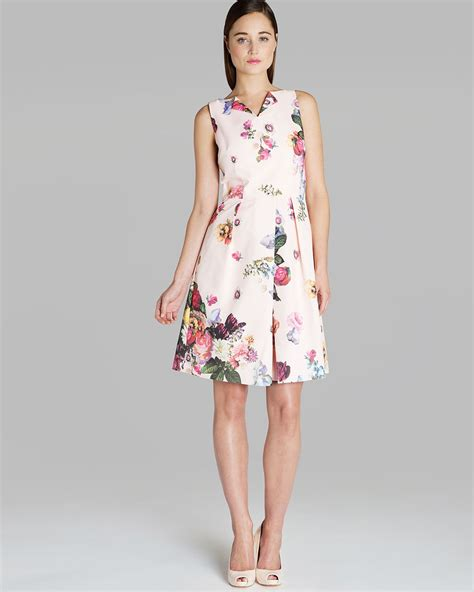 Wst 14394 Blue Flower Dress ted baker floral dress
