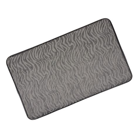 anti fatigue rugs memory foam anti fatigue comfort home kitchen floor mat 76x46cm