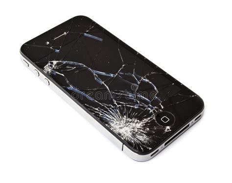 Broken Glass Repair broken iphone editorial image image of cracked break