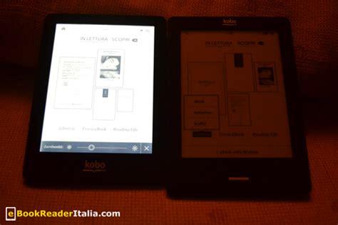 ebook reader illuminato recensione kobo glo di mondadori ebookreader italia