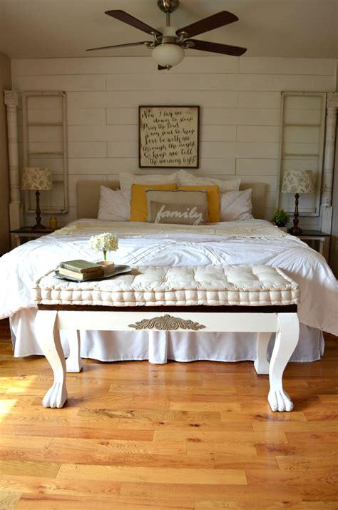 vintage bedroom bench home tour little vintage nest