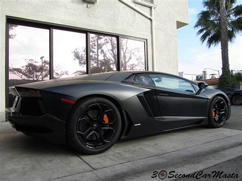 Lamborghini Aventador Lp700 4 Black by Matte Black Lamborghini Aventador Lp700 4 Flickr Photo
