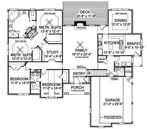 Ranch Style House Plans With Basements by Exclusive Ideas Ranch Style House Plans With Basements