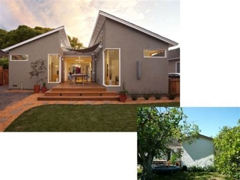 before and after ranch house remodel