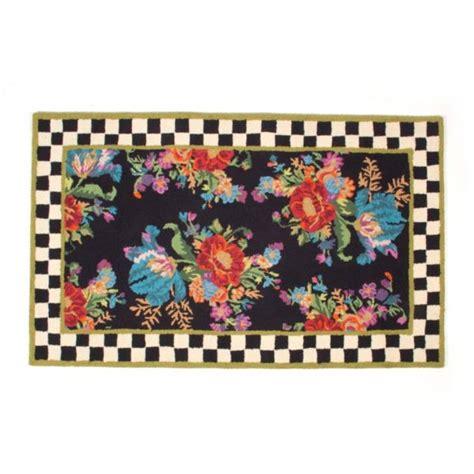 mackenzie childs rugs mackenzie childs flower market rug 3 x 5 chelsea gifts