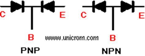 transistor npn medir medicion de transistores