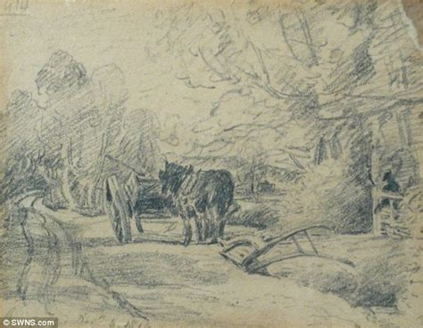 popular sketch artists seven constable sketches to go the hammer for