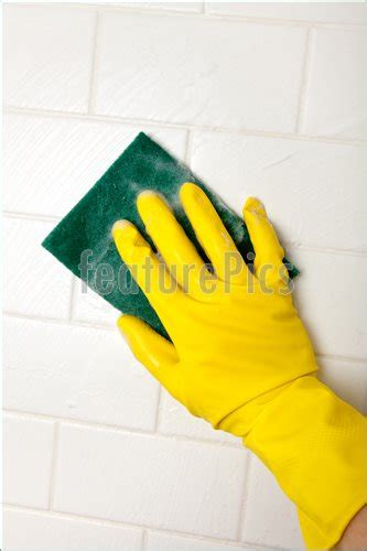 cleaning bathroom walls house living cleaning bathroom tile wall stock picture i2612702 at featurepics