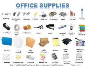Office Supplies Definition Vocabulary With Pictures 13 Pictures To Improve