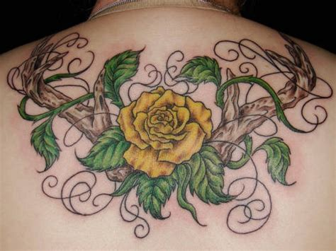 tattoo pictures of yellow roses yellow rose tattoo designs yellow rose tattoo pinterest