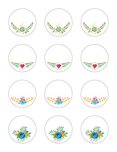 printable tag stickers free printable stickers spring time floral labels the