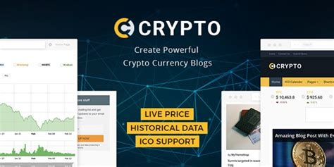 17 Best Bitcoin Cryptocurrency Website Templates Themes Super Dev Resources Cryptocurrency White Paper Template