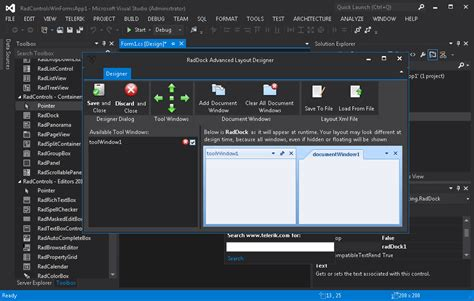 download themes visual studio 2012 telerik s winforms are now visual studio 2012 rtm ready pla
