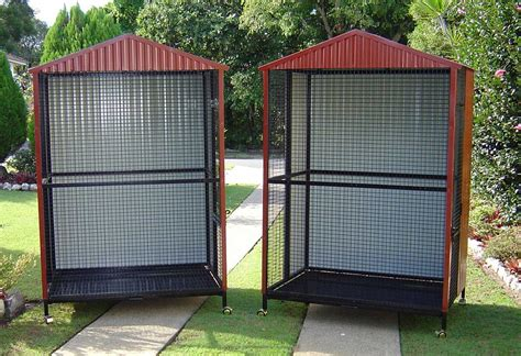 Patio Bird Cages by Patio Style Custom Built Aviaries