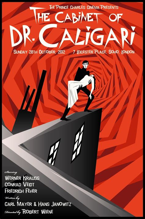 Cabinet Of Dr Caligari Poster by The Cabinet Of Dr Caligari 411posters