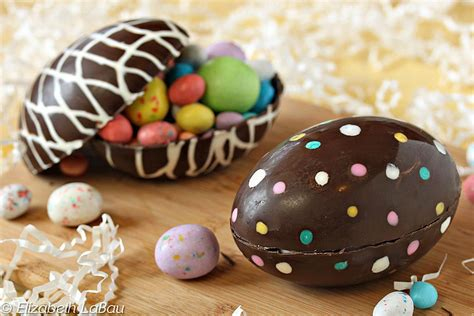 Handmade Chocolate Easter Eggs - hollow chocolate easter egg recipe