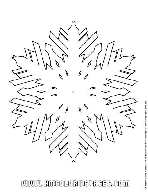snowflake design coloring page snowflake design coloring page h m coloring pages