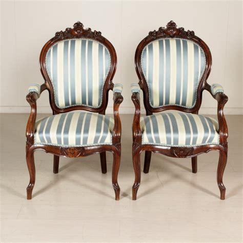 poltrona luigi filippo coppia di poltrone luigi filippo sedie poltrone divani
