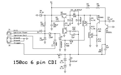 6 pin ac cdi wiring diagram wiring diagram