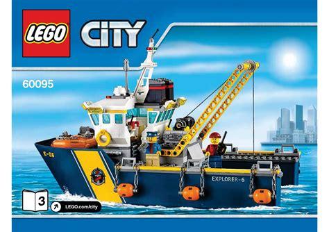 lego boat deep sea lego 60095 deep sea exploration vessel instructions lego